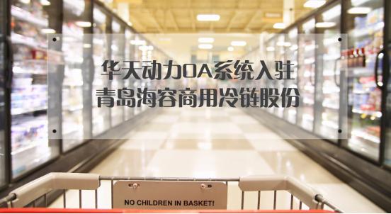 华天动力OA系统入驻青岛海容