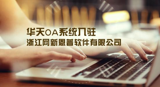 华天动力OA系统入驻浙江网新恩普