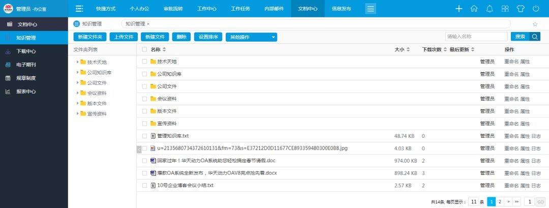 深圳深远贸易有限公司借力华天动力协同OA系统打造党建平台